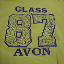 Avon High Ohio Class of 1987  Vintage Names Sweatshirt Cleveland Lorain Photo