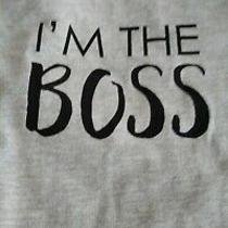 Avon i'm the Boss Kid Tee (2) Size Available Photo