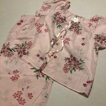 Avon Intimates 2 Pc. Pink Cherry Floral Blouse Pants Pj's Nwot Sz Medium Nwot Photo