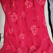 Avon Intimates Hot Pink Floral Nightie Photo