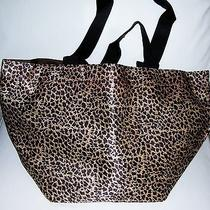 Avon Leopard Print Totebag--New Photo