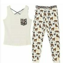 Avon Leopard Vest Pjs With Free Matching Socks  Photo