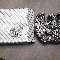 Avon Majestic Eagle Belt Buckle 1982 in Box Photo