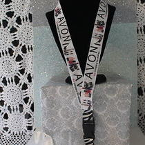 Avon Make Up Ribbon Lanyard Id &  Cell Phone Holder Combo Photo