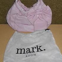 Avon Mark Pink Bow Bag Handbag Purse Photo
