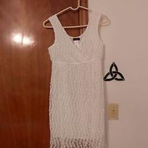 Avon Mark White Dress Photo