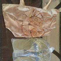 Avon Metallic Flower Handbag/ Metallic Beaded Slide Package Photo