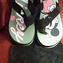 Avon Mickey Mouse Flip Flops (9/10) Photo