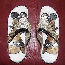 Avon Mickey Mouse Size M 7-8 Flip Flops Photo