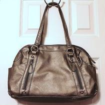 Avon   New   Holiday Butler Bag  Metallic Gray Photo