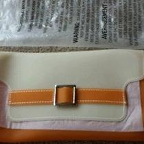 Avon Orange Clutch/cosmetic Bag  Photo