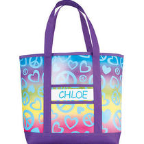 Avon Personalized Rainbow Tote Photo
