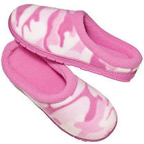 Avon Pink Camo Memory Foam Women Slipper Limited Edition Sm L Xl Photo