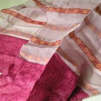 Avon Pink Scarf. Cotton Polyamide.   Photo