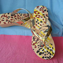 Avon Printed Wedge Sandals Photo