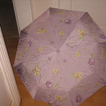 Avon Purple Floral Pattern Umbrella  Photo
