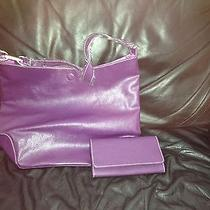 Avon Purple Purse and Wallet Photo