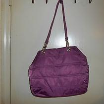Avon Purple Quilted Purse Photo