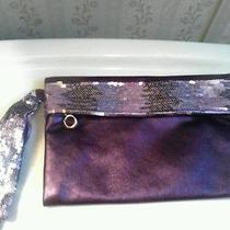Avon Purple Sequined Wristlet Nwot Photo