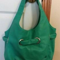 Avon Purse Turquoise Blue Snap Closure Zipper Pocket Hobo Shoulder Bag Photo