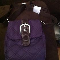 Avon Quilted Purple Crossbag Photo