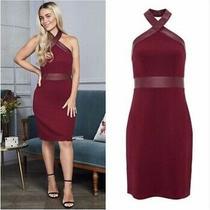 Avon Red 10/12 Coveted Lalana Halterneck Dress Photo