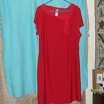 Avon Red Dress Size 1x Photo