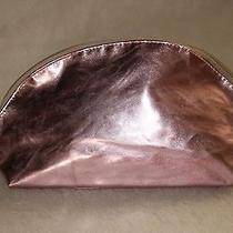 Avon  Rose Quartz Metallic Cosmetic Large Bag )))) New (((( Photo