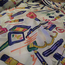 Avon Scarf Created in Italy Avon Makeup  Print 34 X 34 Inches Photo
