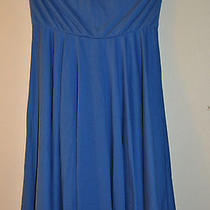 Avon Shoulder Dress Medium Blue Photo