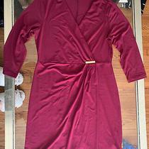 Avon Signature Collection Womens Faux Wrap Dress - Size M Photo