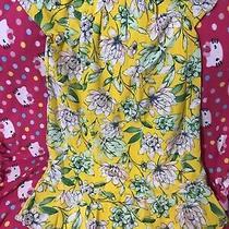 Avon Signature Collection Yellow Jill Dress 12-14 Large New Photo