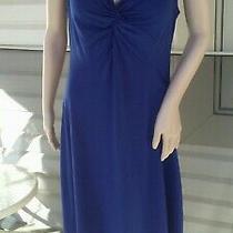 Avon Sleeveless Dress Navy Blue Size Medium Photo