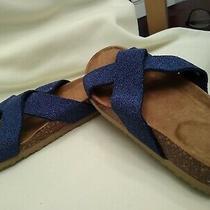 Avon Sparkling Contour Sandal Blue Size7 Photo