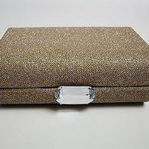 Avon Sparkling Convertible Jewelry Clutch - Goldtone  Photo