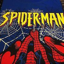 Avon Spiderman Blue Shirt Size 4/5 & Comic Book  Photo