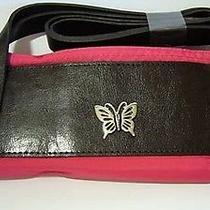 Avon Summer Fun Weekender Butterfly Pink Black Tote Bag Photo
