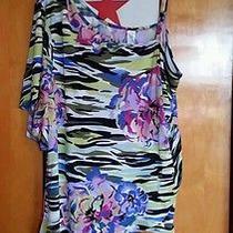 Avon Summer Tropic Blouse 2xl Photo