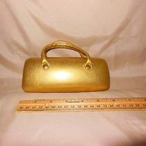 Avon Sunglasses Case Gold Photo