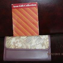 Avon Tapestry Clutch - Burgandy Photo