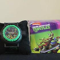 Avon Teenage Mutant Ninja Turtles Porjection Watch Photo