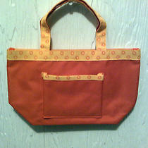 Avon Tote/hand Bag Oranges Small W/hand Strap 10