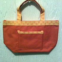 Avon Tote/hand Bag Oranges Small W/hand Strap 10