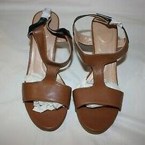 Avon  Ultimate T Strap Sandal Tan 3