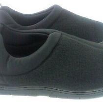Avon Unisex Memory Foam Slippers Size Small - Man Made Materials - Black - New Photo
