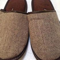 Avon Unisex Women Men Slip on Bedroom Slippers Shoes Brown One Size New Photo