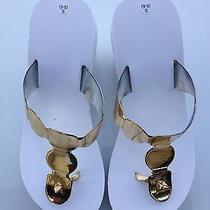 Avon White Sandals Photo