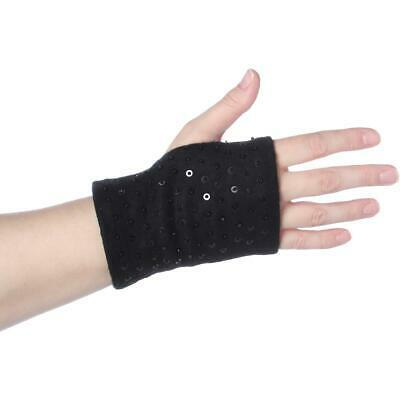 Avon Womens Black Sequined 2-In-1 Outerwear Winter Gloves O/S BHFO 6102 Photo