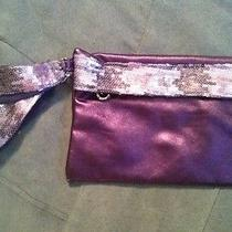 Avon Wristlet Bag Purple Photo