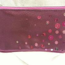 Avon  Wristlet   Purple /pink With Sequins Photo